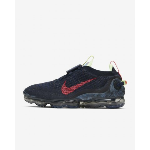 Nike Air Vapormax 2020 FlyKnit Azules/Barely Volt/Anthracite/Rojas CW1765-400